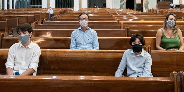 Limitação nas igrejas durante pandemia
