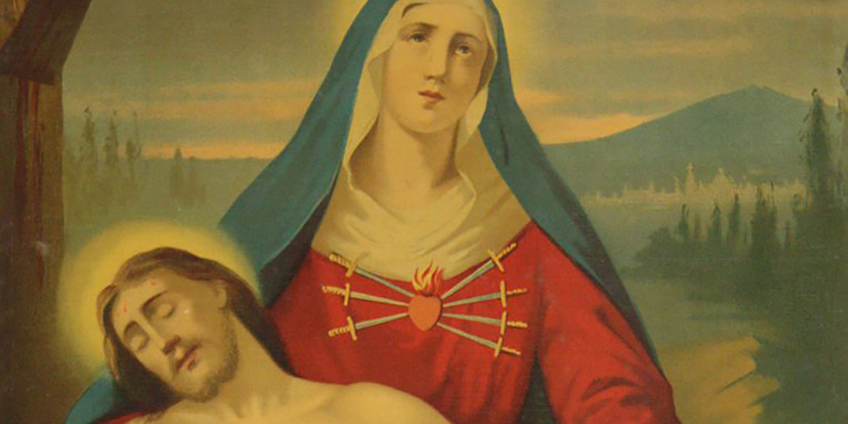 OUR LADY OF SORROW IN CAMPOCAVALLO