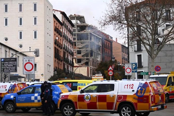 Explosão em Madri