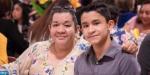 Emilian Sosa e a mãe Erika Calderon