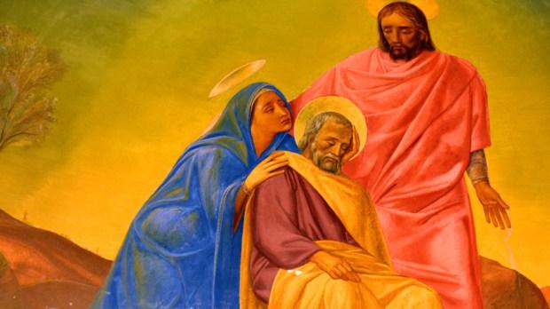 São José, Maria e Jesus