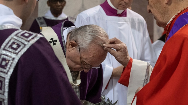 Quarta-feira de Cinzas com o Papa Francisco