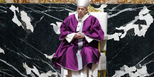 Quaresma iniciada pelo Papa Francisco na Quarta-Feira de Cinzas