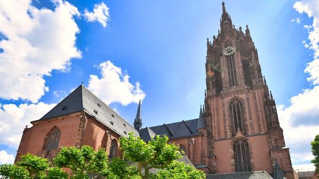Igreja na Alemanha: catedral de Frankfurt