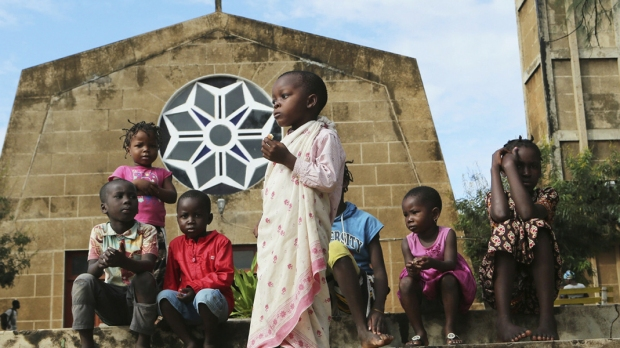 DZIECI W MOZAMBIKU