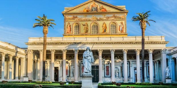 Ressurreição e Basílica de São Paulo em Roma