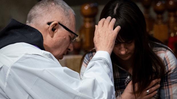CONFESSION, PRIEST, WOMAN