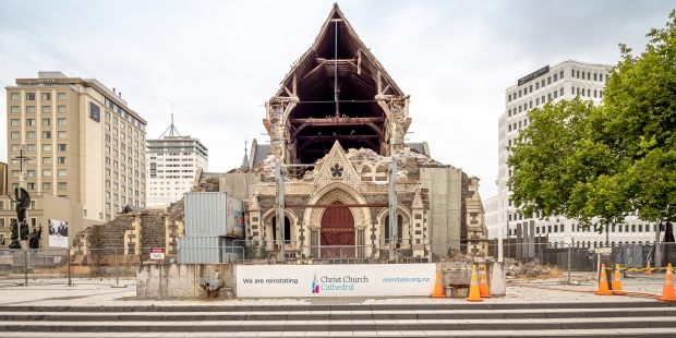 New Zealand's Christchurch Cathedral