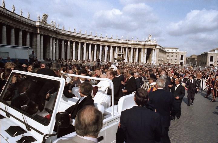 Tiros contra João Paulo II