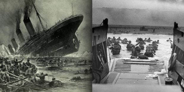 Titanic e Dia D