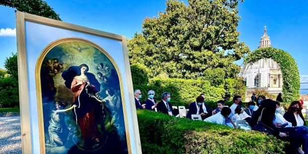 Maratona de orações encerrada junto a Nossa Senhora Desatadora dos Nós