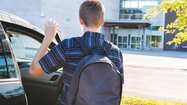 BOY, SCHOOL, CAR
