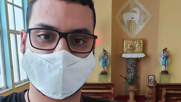 Caio Batista, jovem ex-protestante que se tornou católico