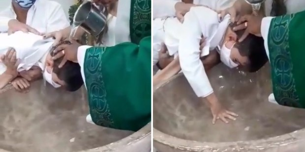 Batizado de Davi Henrique, 6 anos