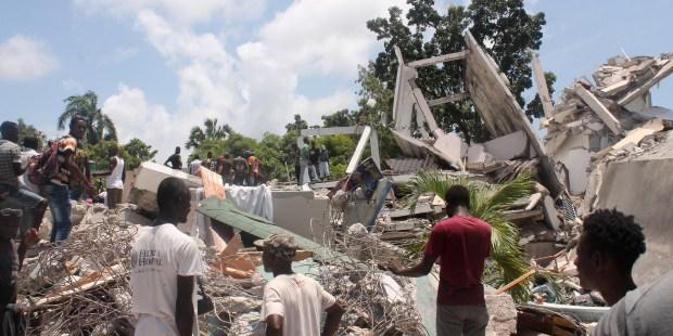 Terrremoto no Haiti