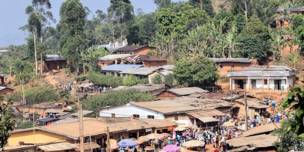 Região separatista de Camarões