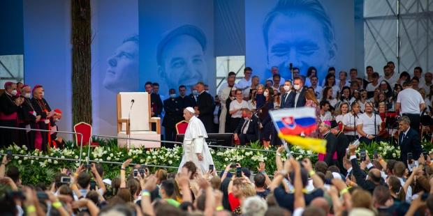 Papa Francisco na Eslováquia