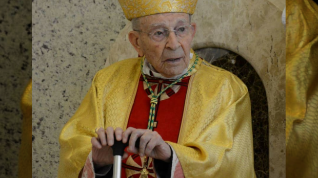 Dom Antônio Affonso de Miranda, bispo mais idoso do Brasil